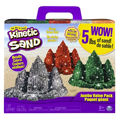 Kinetic Sand 5lb Pack Childrens-Art-Doughs by Kinetic Sand