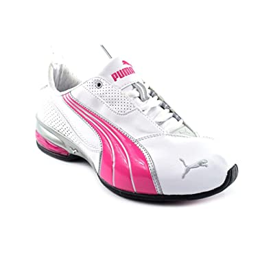 ad8c0b51cdc1 Puma Cell Jago 7 Jrs Womens White Sneakers Shoes Size 7 UK UK 7   Amazon.co.uk  Shoes   Bags
