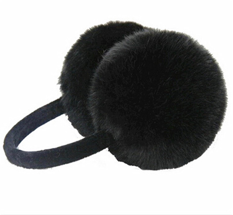 HENGSONG Women Plush Fluffy Warm Earmuffs Earlap Winter Ear Protector