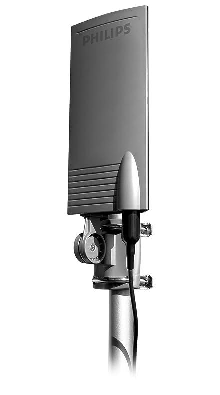 amazon com philips sdv2940 27 uhf digital and analog indoor outdoor rh amazon com philips hdtv antenna mant940 manual HD Antenna