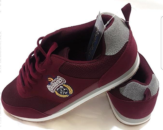 Primark - Zapatillas para Mujer Rojo Granate, Color Rojo, Talla 37 EU: Amazon.es: Zapatos y complementos