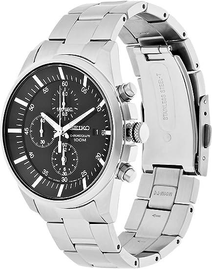 SEIKO (セイコー) 腕時計 海外モデル SNDC81P1 クロノグラフ クォ-ツ メンズ [並行輸入品]