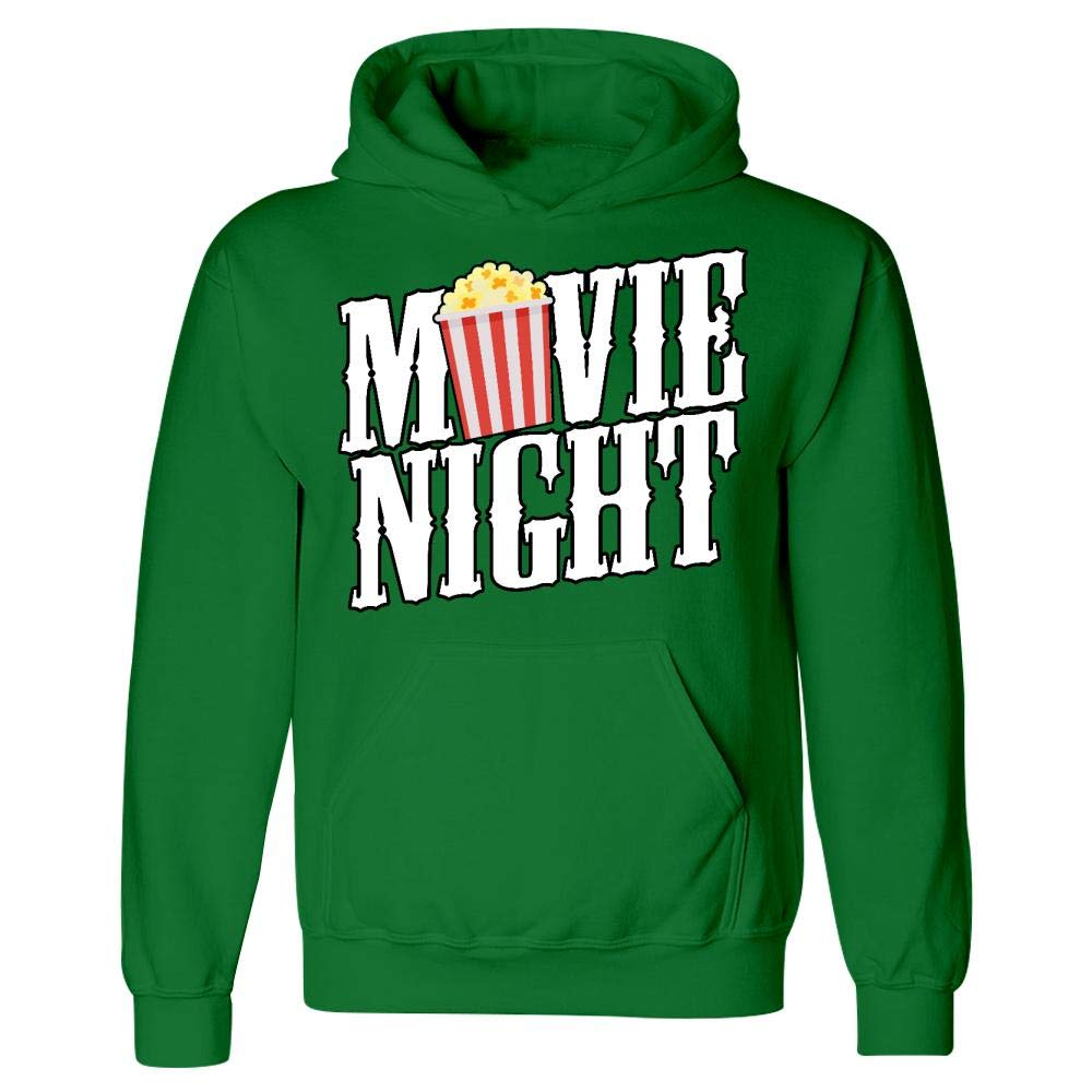 Funny Theatre Gift Hoodie Movie Night Popcorn Bucket