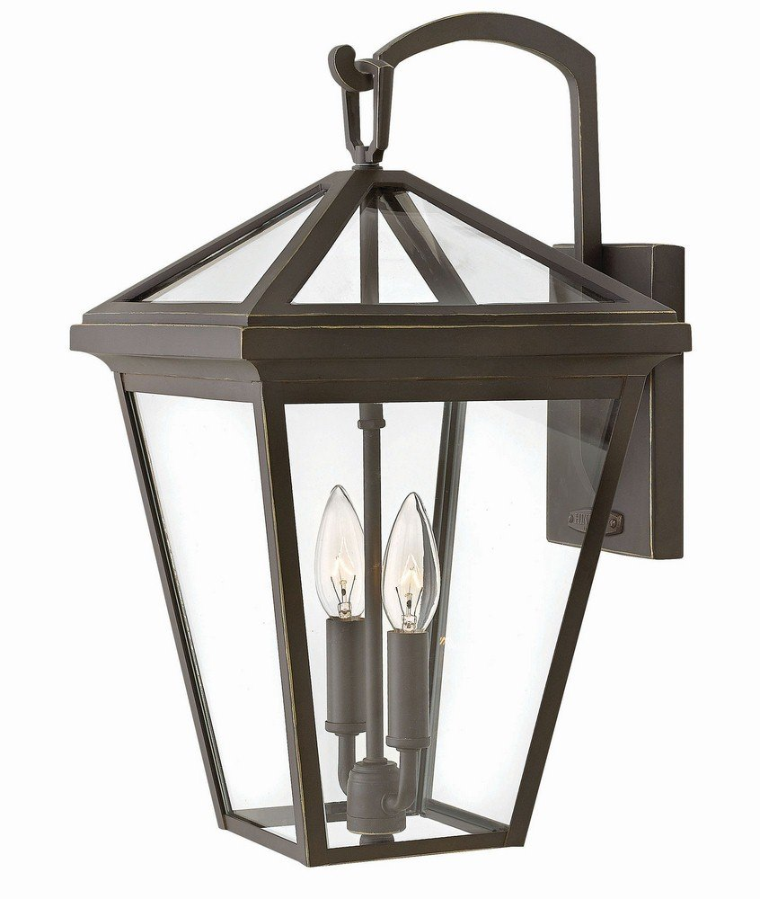 Hinkley 2564OZ Transitional Two Light Outdoor Wall Mount from Alford Place collection in Bronze/Darkfinish,