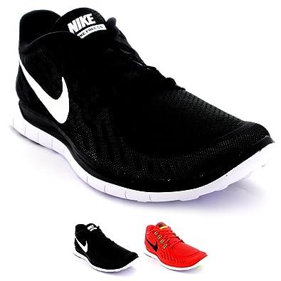 Nike Free 5.0 Lauf Herren Schuhe schwarz gelb grün