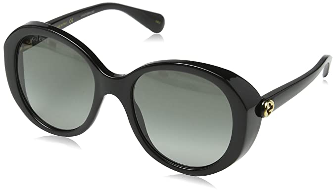 Amazon.com: Gucci GG0368S 001 - Gafas de sol cuadradas ...