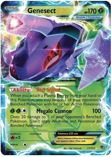 Pokemon Card - Plasma Blast 11/101 - GENESECT EX (holo-foil)