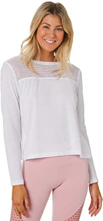 Lorna Jane Women's Cover Up Cropped Long Sleeve Top