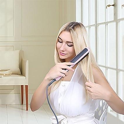 haige ionischer alisador de cabello Cepillo redondo, de cerámica calefacción glättb, pantalla LED +
