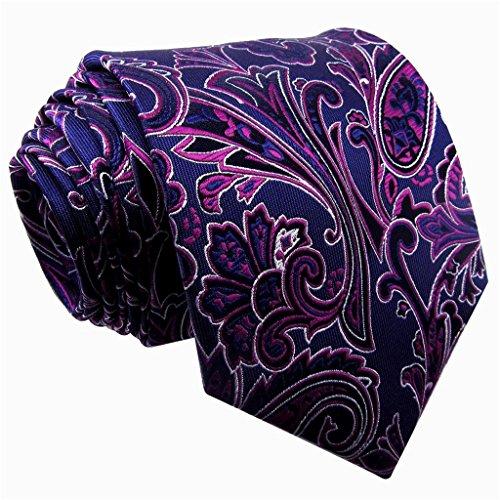 Shlax & Wing Mens Ties Neckties Plaids Checks Khaki Blue Navy 100% Silk