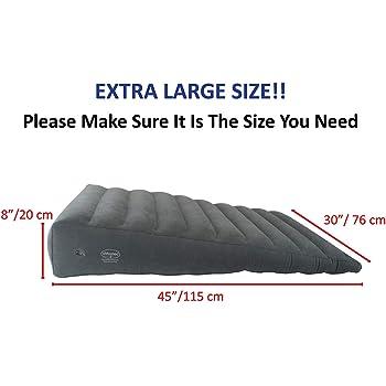 Amazon Com Inflatable Bed Wedge Acid Reflux Wedge Heavy