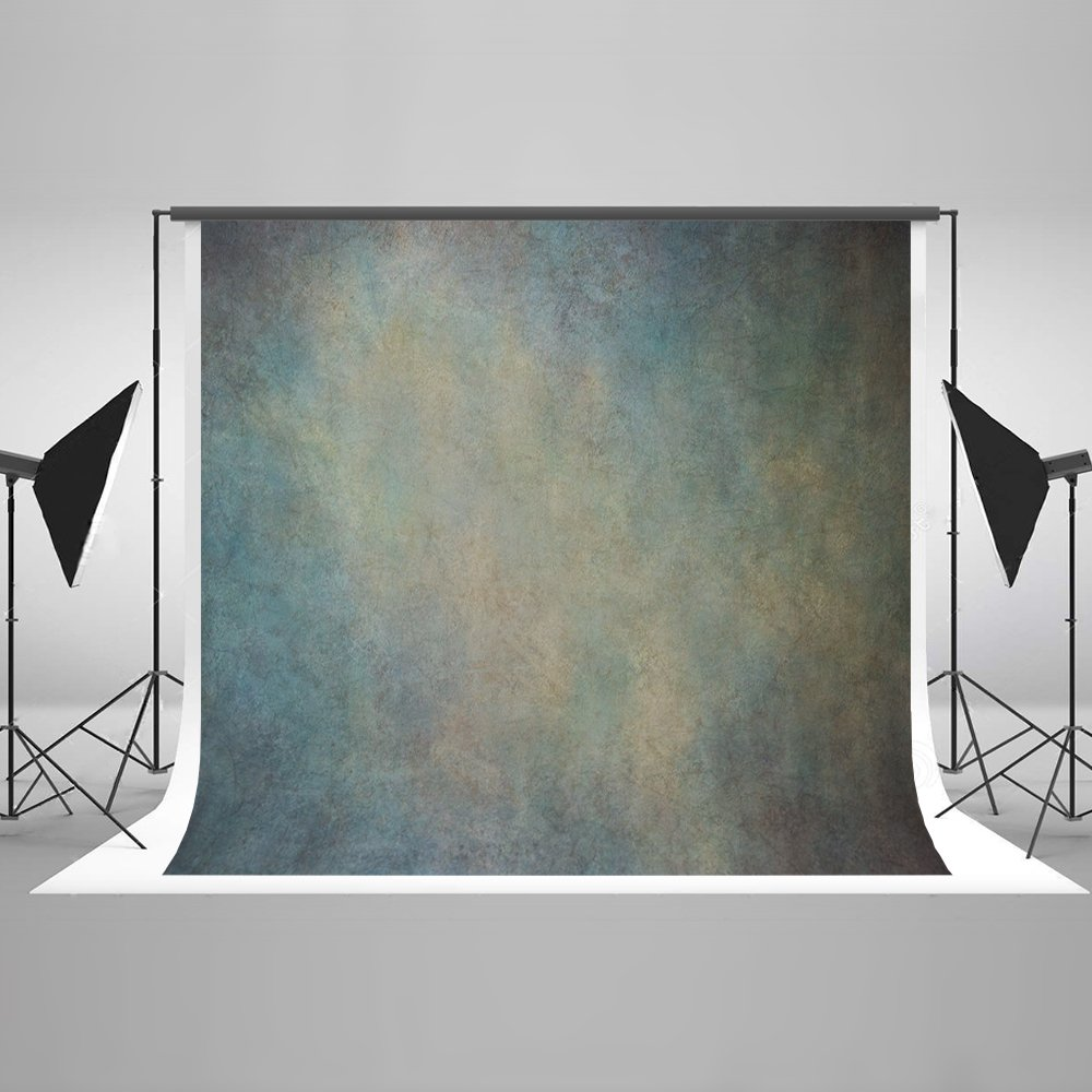 Kate 10ft(W)x10ft(H/T) Abstract Photo Backdrop Microfiber Cadetblue Portrait Photography Background by Kate