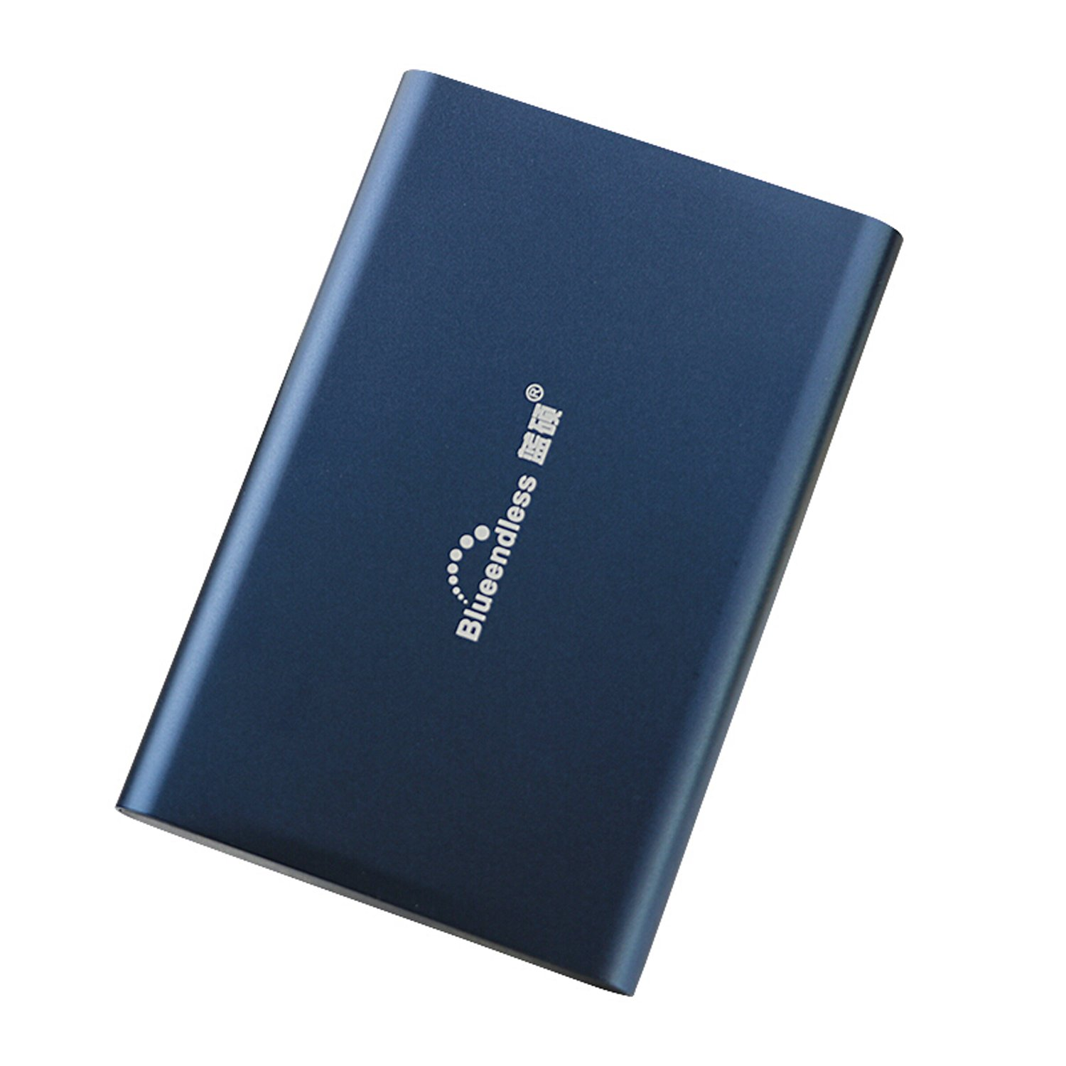 Bluenedless 160gb Portable External Hard Drive USB 3.0 Hard Disk for PC Laptop Computer (Blue)