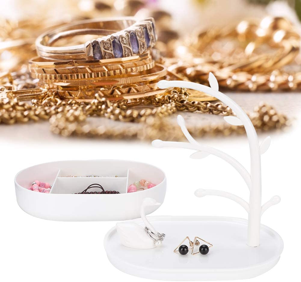 Halsketten-Ohrring-Armband-Hang-Pr/äsentationsst/änder Qkiss Schmuck-Speicher-Standplatz Schmuck-h/ängender Baum-Standplatz 1#