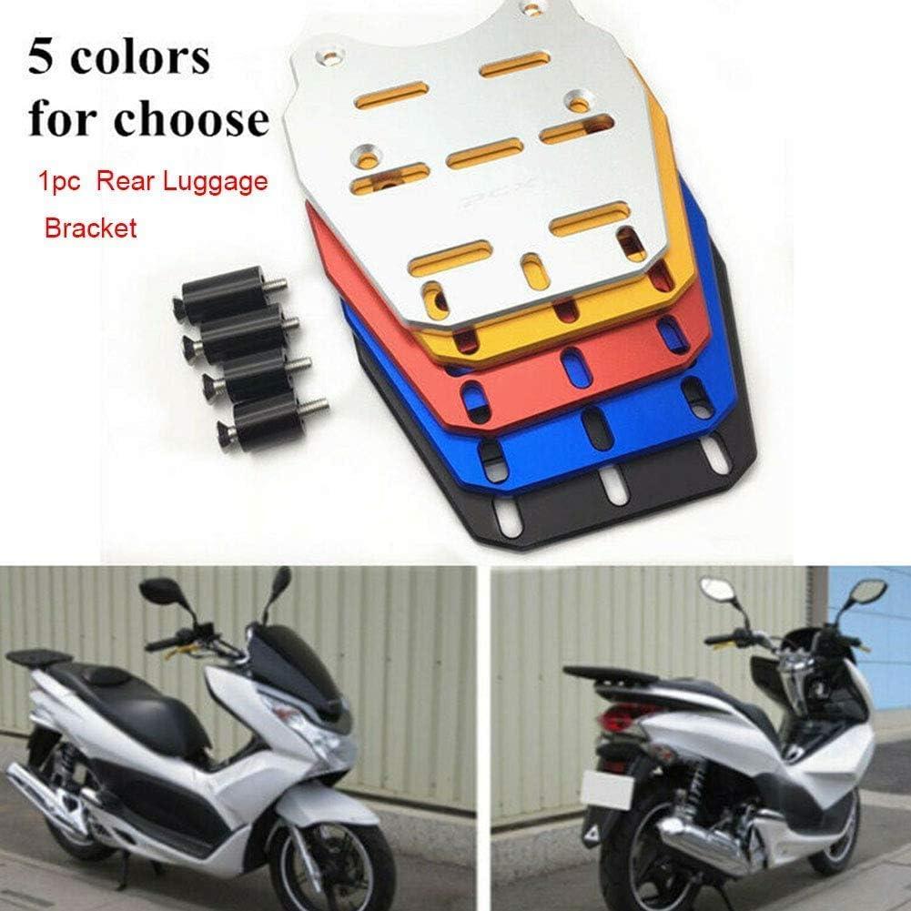 GCDN Motorcycle Luggage Rack Aluminum Alloy Motorbike Tail Rack For Honda PCX 125 150 2014-2019 Motorcycle Rear Luggage Bracket Cargo Rack