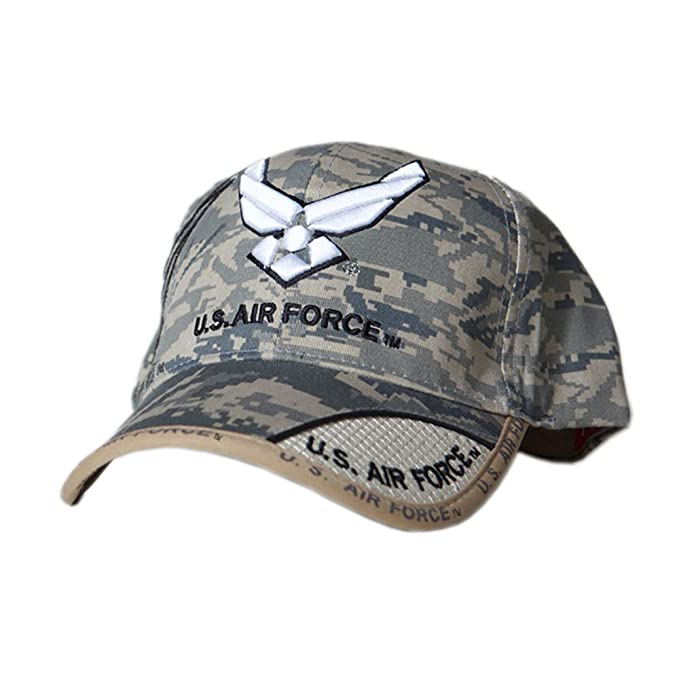 Image Unavailable. Image not available for. Color  US HONOR TM Embroidered  Digital Pixel Camo Air Force Wing Logo Baseball Caps Hats ec221e4c17f1