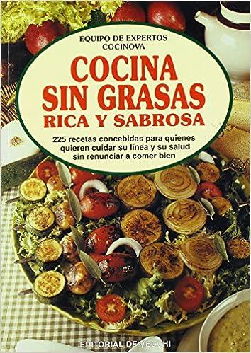 Cocina Sin Grasas - Rica y Sabrosa (Spanish Edition): Vecchi de: 9788431522254: Amazon.com: Books