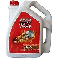 Castrol Engine Oil 20W50 GTX ESSENTIAL 4 Liter Gallon