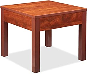 """Lorell Occasional Corner Table, 0.5"""" Height X 50"""" Width X 36.4"""" Length"""