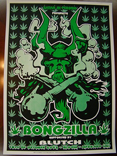 Top 3 best bongzilla poster for 2019