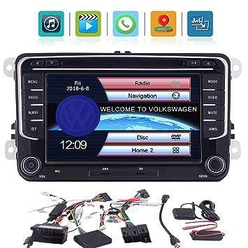 Radio coches reproductor de DVD de navegaci¨®n GPS para VW Passat Jetta Golf