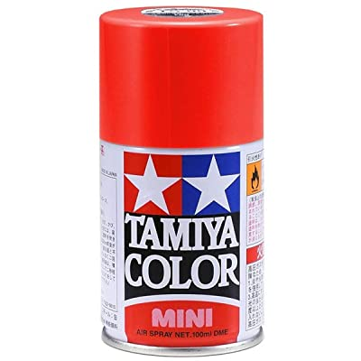 Tamiya America, Inc Spray Lacquer TS-8 Italian Red, TAM85008: Toys & Games