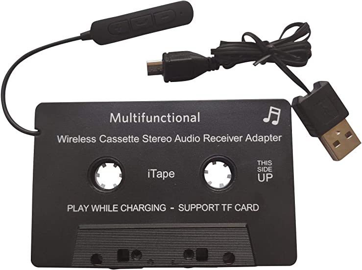 Tablet Car Radio Cassette Tape Adapter for iPod etc iPhone MP3 Android