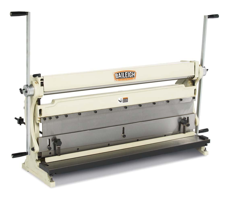 Baileigh SBR-4020 3-in-1 Combination Shear Brake Roll Machine, 40'' Bed Width, 20-Gauge Mild Steal Capacity