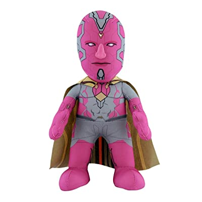 "Bleacher Creatures Marvel's Avengers 2 Age of Ultron Vision 10"" Plush Figure: Toys & Games"