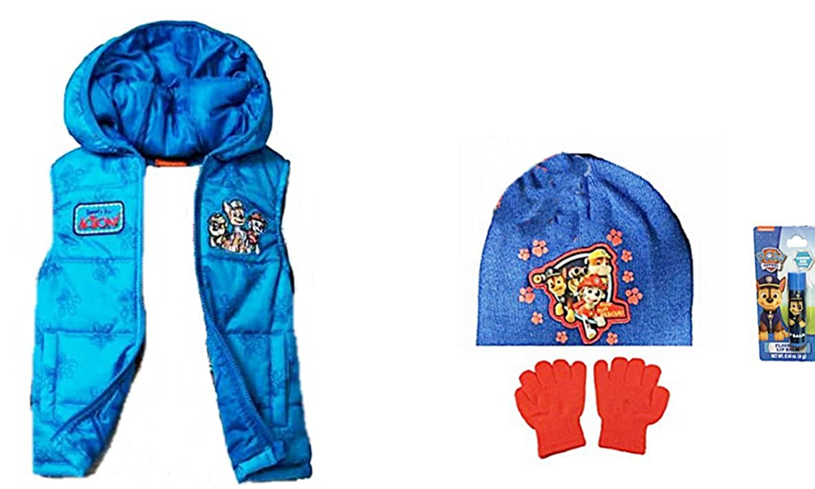 d985cd5198af Amazon.com  Paw Patrol Toddler Boys Hooded Puffer Vest Size 2T Plus ...