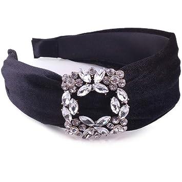 Fashion Ladies Rhinestone Crystal Headband Hairband Hair Band Hair Accessories
