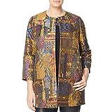 Marina Rinaldi Women's Nave Embroidered Shortcoat, Multicolor, 14W / 23