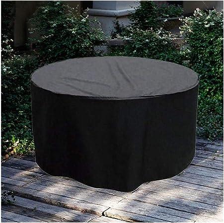 WKZWY Funda For Muebles De Jardín Protección contra Polvo/Sol Lona Protectora Impermeable Patio Mesa Redonda Y Sillas, Tamaño Personalizado (Color : Negro, Size : 200x90cm): Amazon.es: Hogar