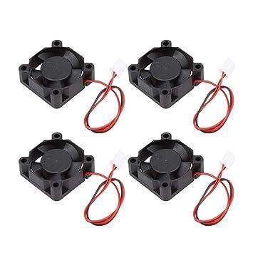 Shumo 4 Piezas Accesorios para Impresoras 3D Ventilador de Escape ...