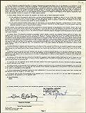 Gene Roddenberry - Document Signed 07/27/1962