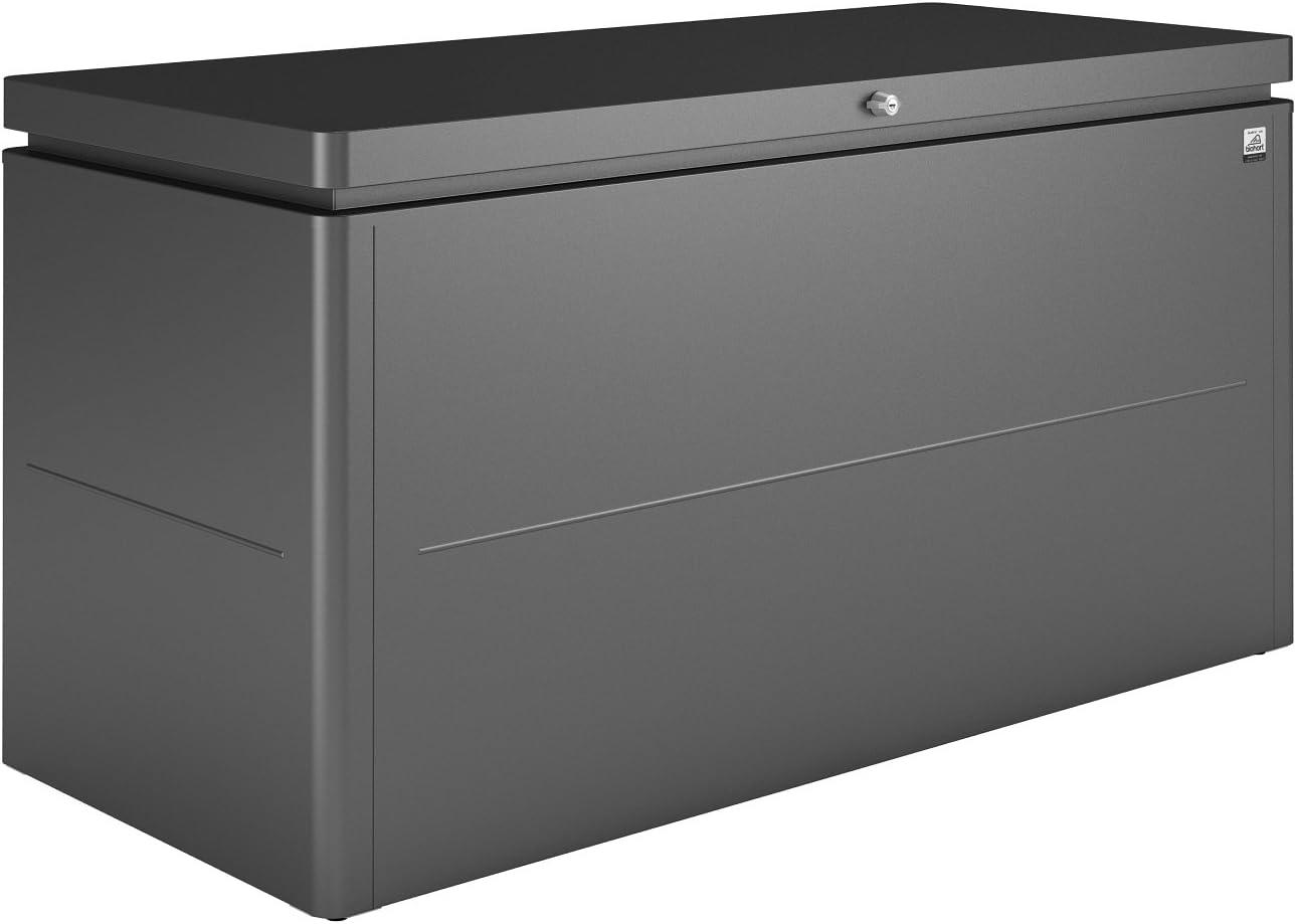 Biohort - Armario metálico de jardín Lounge Box 160