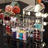 Sooyee Clear 3 Vertical Drawer Earring Display