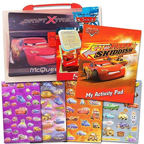 Disney Cars Stickers & Activity Book Set