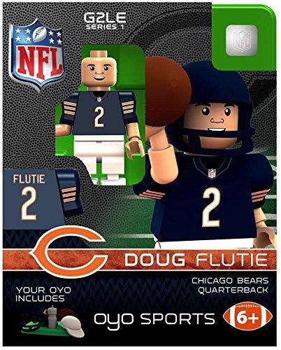 OYO NFL Chicago Bears Doug Flutie Gen 2 Mini Figure, Small ()