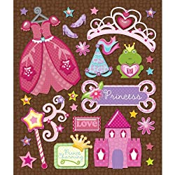 K&company Princess Sticker Medley