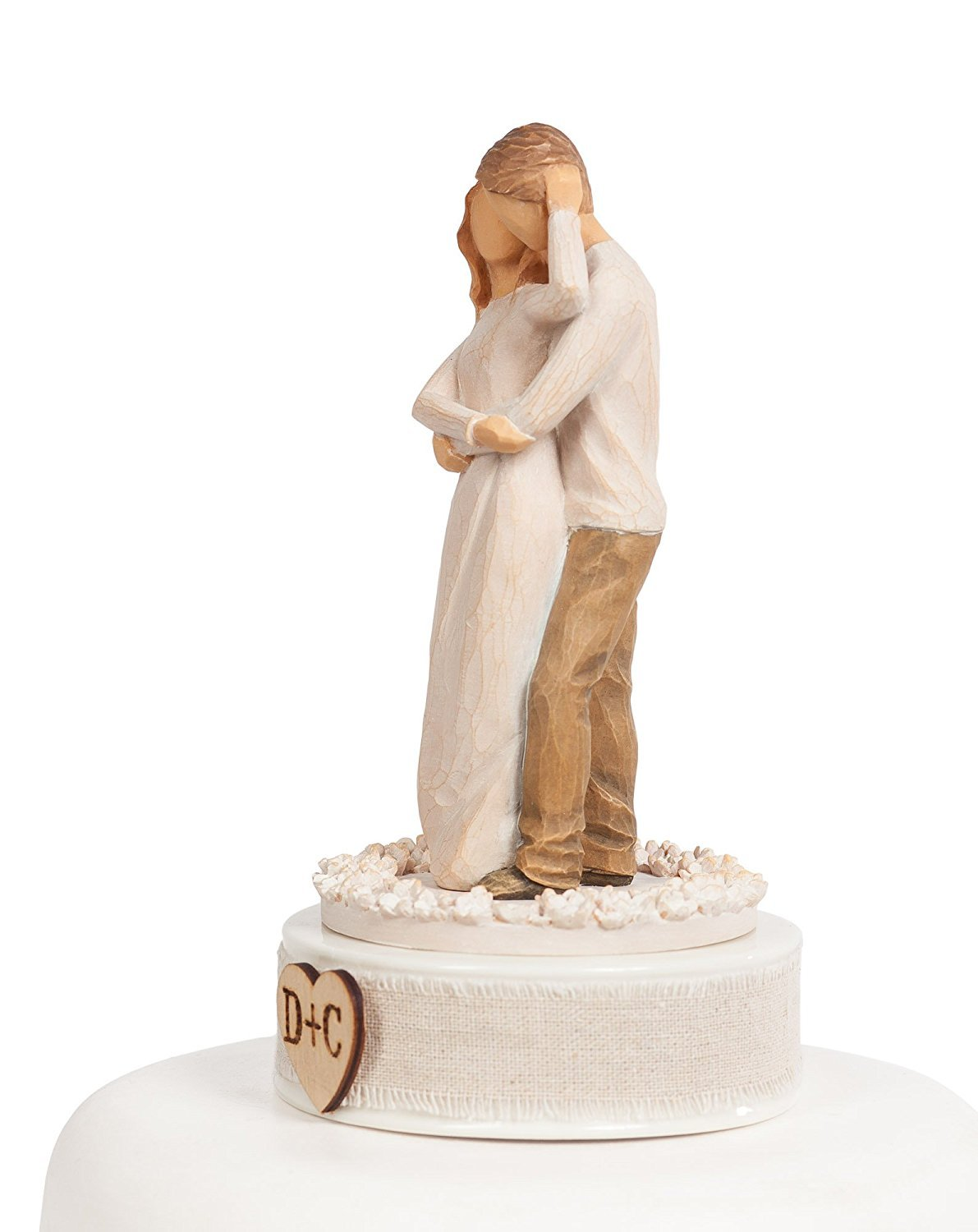 Personalized Willow Tree ''Together'' Wedding Cake Topper ... by DEMDACO - Home (Image #2)