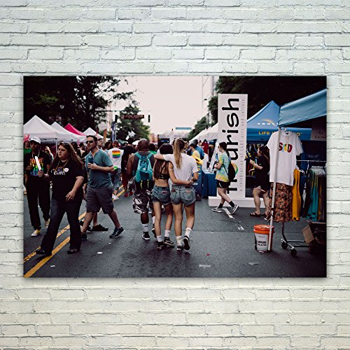 Westlake Art Poster Print Wall Art - Car Crowd - Modern Picture Photography Home Decor Office Birthday Gift - Unframed - (Party City In Charlotte)