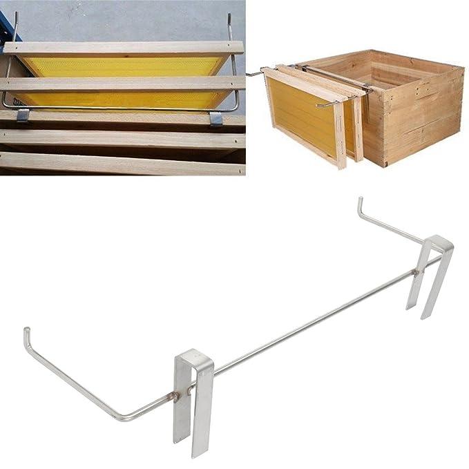 Amazon.com: janolia colmena marco de soporte, soporte de ...