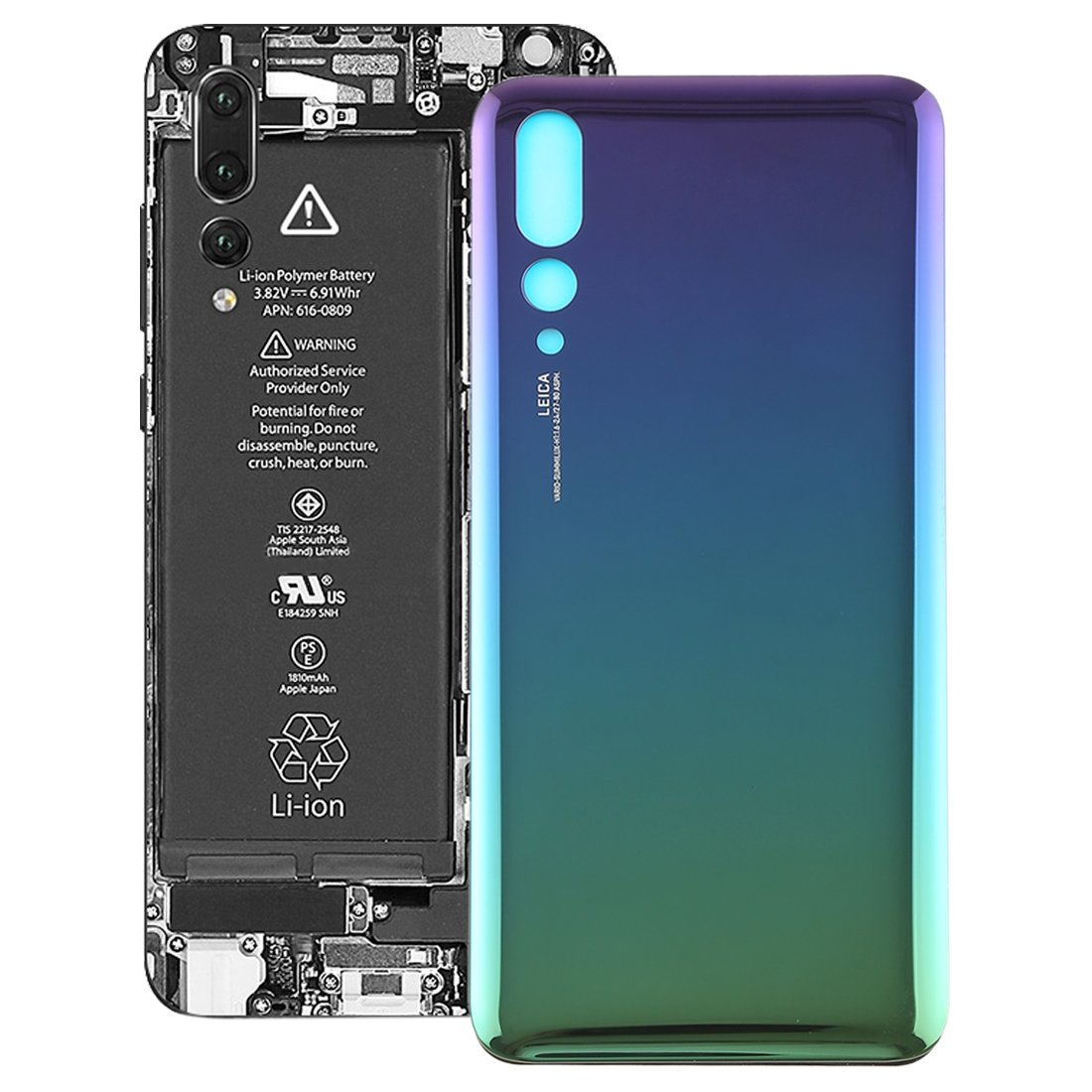 Amazon.com: KANEED Back Cover, Back Cover for Huawei P20 Pro ...