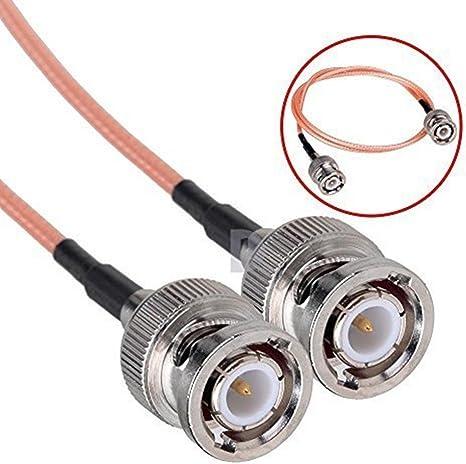 Cable de extensión, cable macho HD SDI para cámaras HyperDeck BMCC BMPC (longitud de 60 cm)