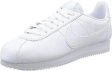 septiembre retirada Fantasía  NIKE Wmns Classic Cortez Leather, Zapatillas Mujer: Amazon.es: Zapatos y  complementos