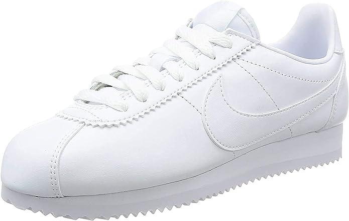 NIKE Wmns Classic Cortez Leather, Zapatillas Mujer: Amazon.es: Zapatos y complementos