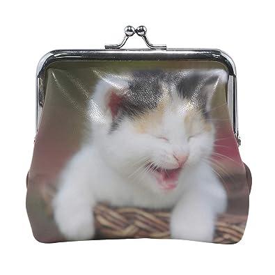 Amazon.com: Rh Studio Monedero para gatito con estampado de ...