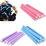 10pcs Curler Makers Soft Foam Bendy Twist Curls Tool DIY Styling Hair Rollers (Random Color) by Broadfashion