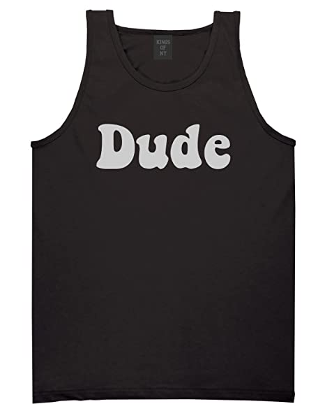 9eee8762aaa7b4 Kings Of NY Dude 70s Mens Tank Top Shirt at Amazon Men s Clothing store